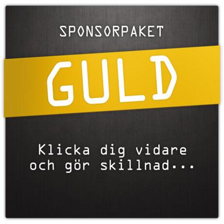 Sponsorpaket GULD